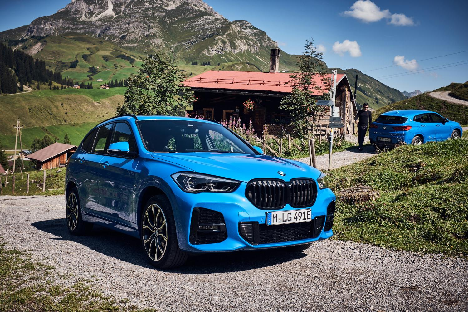 Les SUV Hybrides rechargeables BMW.'
