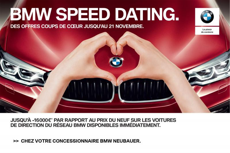 BMW SPEED DATING.'