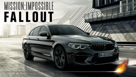 BMW & MISSION IMPOSSIBLE FALLOUT
