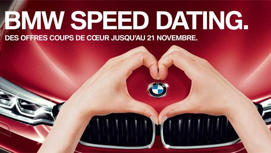 BMW SPEED DATING.
