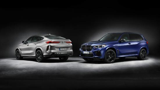 BMW X6 M Competition & BMW X5 M Competition.