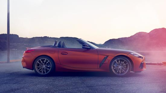 Nouvelle BMW Z4 à Pebble Beach.